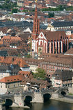 Germany,Wuerzburg,City View Stock Image