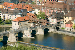Germany,Wuerzburg,City View Stock Images