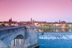 Germany,Wuerzburg,City View Royalty Free Stock Images