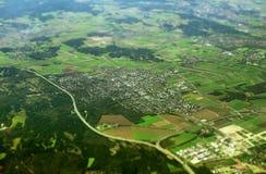 Germering in Baviera, Germania Fotografia Stock