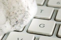 Germes do teclado Imagens de Stock