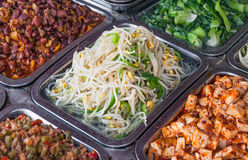 Germinated Beans. Chinese food: the germinated beans stock photography
