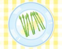 Germogli dell'asparago Illustrazione Vettoriale