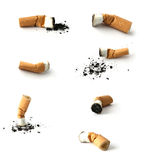 Germogli della sigaretta Fotografie Stock Libere da Diritti