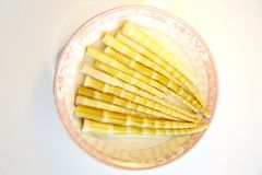 Germogli di bambù selvaggi Fotografie Stock Libere da Diritti