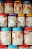 Germoglio di bambù, alimento nella stagione delle pioggie Fotografia Stock