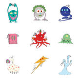 Germs viruses bacteria Stock Photography