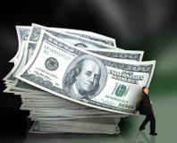 Gerência de dinheiro Foto de Stock