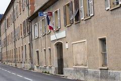Gerndarmerie in Sospel Polizeirevier im Süden von Frankreich stockbild