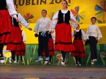 Gero Axular Danza Taleda, España, Lublin, Polonia Foto de archivo libre de regalías