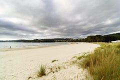 Geroepen strand Stock Afbeeldingen