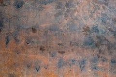 Geroest blad van metaal en grunge textuur royalty-vrije stock afbeelding