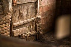 Geroeste deur Royalty-vrije Stock Afbeeldingen