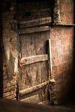 Geroeste deur Royalty-vrije Stock Afbeelding