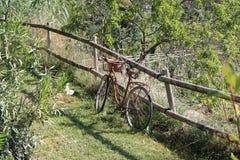 Geroeste fiets Royalty-vrije Stock Afbeelding