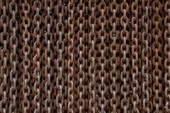 Geroeste kettingenachtergrond Royalty-vrije Stock Afbeelding