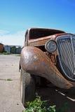 Geroeste klassieke Duitse auto Royalty-vrije Stock Foto