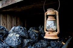 Geroeste lantaarn royalty-vrije stock foto's