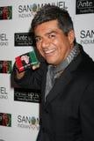 """Geroge Lopez, der oben zu dem 2. jährlichen """"Einsatz für Afrika"""" Poker-Turnier kommt Stockfotos"""