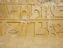 Geroglifico egiziano Immagine Stock Libera da Diritti