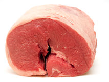 Gerold borststuk van vers rundvlees royalty-vrije stock afbeeldingen