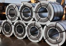 Gerold staal Royalty-vrije Stock Fotografie