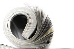 Gerold tijdschrift stock foto's
