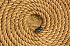 Gerolde kabel stock foto