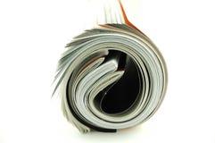 Gerolde Tijdschriften Stock Foto's