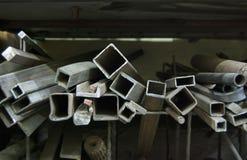 Gerollte Metallprodukte industrielles abstraktes Thema Lizenzfreies Stockbild