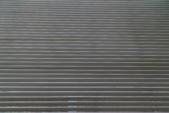 Gerollte Stahlblendenverschluss-Tür Lizenzfreies Stockbild