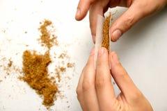 Gerollte Zigarette Lizenzfreies Stockbild