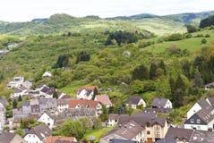 Gerolstein in Deutschland lizenzfreies stockbild