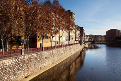 Gerona. City in the Spain Royalty Free Stock Photography
