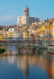 Gerona, Catalonia, Espanha Fotos de Stock Royalty Free