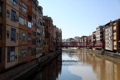 Gerona in Catalonia,  Spain Royalty Free Stock Images