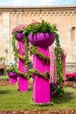 Gerona´s Flower Festival Decoration Stock Photo