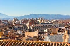 Gerona, Spain view Stock Image