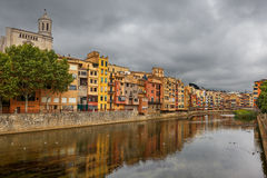Gerona. Spain. Royalty Free Stock Photos