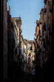 Gerona street Royalty Free Stock Photos