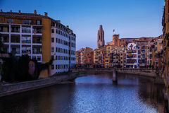 Gerona sunset Royalty Free Stock Image