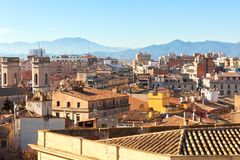 Gerona view Royalty Free Stock Image