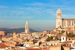 gerona widok Spain Zdjęcie Royalty Free