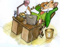 Geronimo stilton 2 Royalty Free Stock Photos