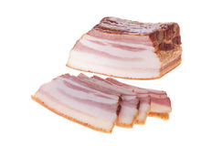 Gerookt bacon Stock Afbeelding