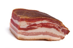 Gerookt bacon Royalty-vrije Stock Foto's