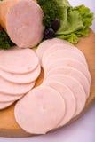 Gerookt vlees Royalty-vrije Stock Foto's
