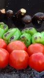 Gerookte groenten stock afbeelding