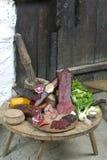 Gerookte ham royalty-vrije stock afbeelding