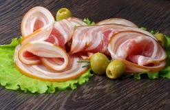 Gerookte Ham Stock Foto's